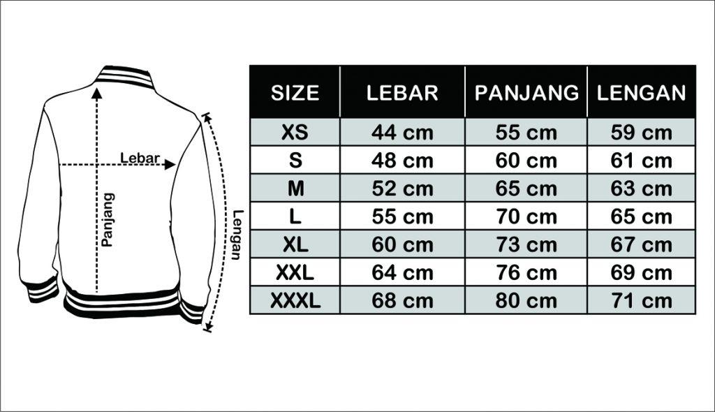 sizechart-jaket