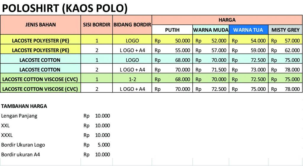 Daftar-harga-kaos-polo